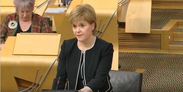 The First Minister, Nicola Sturgeon MSP, answers questions on the turmoil at the Crofting Commission