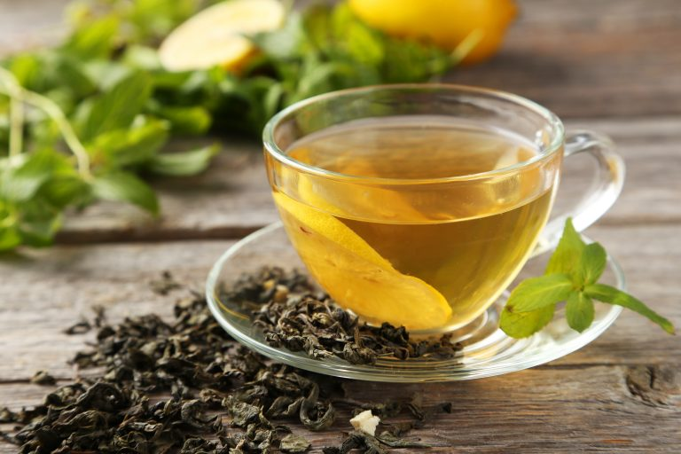 dental health green tea