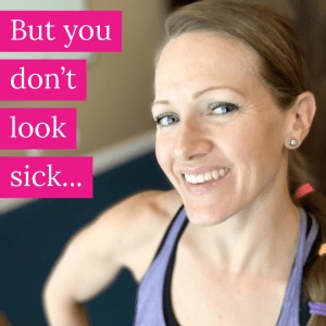 Picture of healthy looking girl who if battling a chronic invisible illness