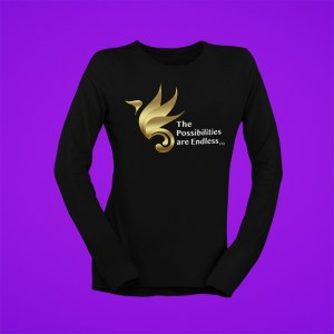 The Possibilities Are Endless™ Women's Long Sleeve T-Shirt