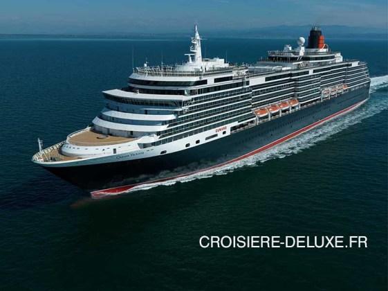 traversée Queen Victoria de la compagnie Cunard