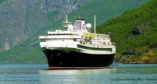 MS Astoria vue de face- navire de la compagnie Rivages du Monde