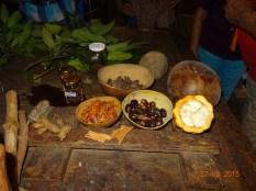 Les épices, cacao et noix de cajou