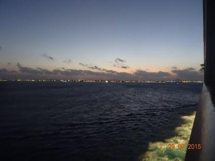 Au petit jour, Aruba apparaît enfin