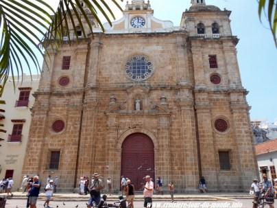 Escale à Cartagena en Colombie San Pédro de Claver