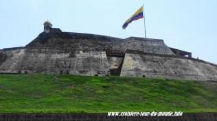 Escale à Cartagena en Colombie forteresse de San Felipe 3