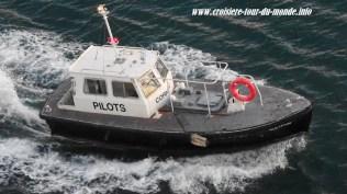 Le bateau pilote du port de CastriesLe bateau pilote du port de Castries