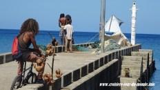 Un petit embarcadère de Sainte Lucie