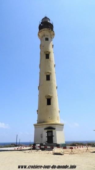 Escale à Oranjestad Aruba le phare California