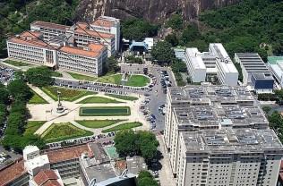 Vue sur la ville depuis le pain de Sucre de Rio de Janeiro