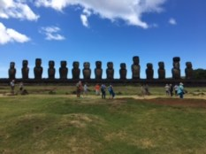 Croisière tour du monde Austral 2017 Costa Croisière Jacques Charles à la découverte de l'île de Paques au Chili