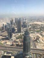 Vue Du haut de la burj Khalifa