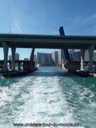 Visite de la baie de Miami