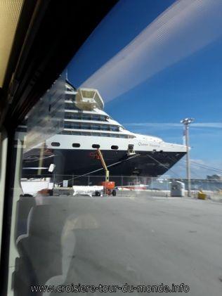 Le Queen Victoria entre dans le port de Fort Lauderdale Miami Floride