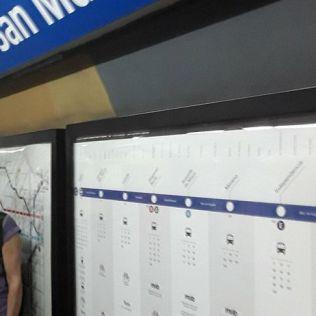 Escale à Buenos Aires en Argentine Petit tour en métro