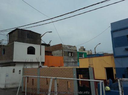 Escale à Lima au Pérou