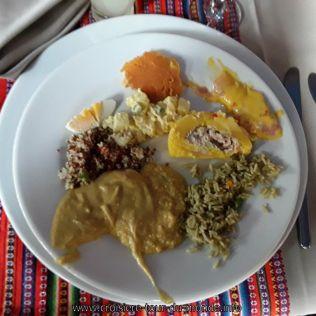 Escale à Lima au Pérou nourriture locale