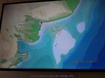 En navigation vers Puerto Madryn