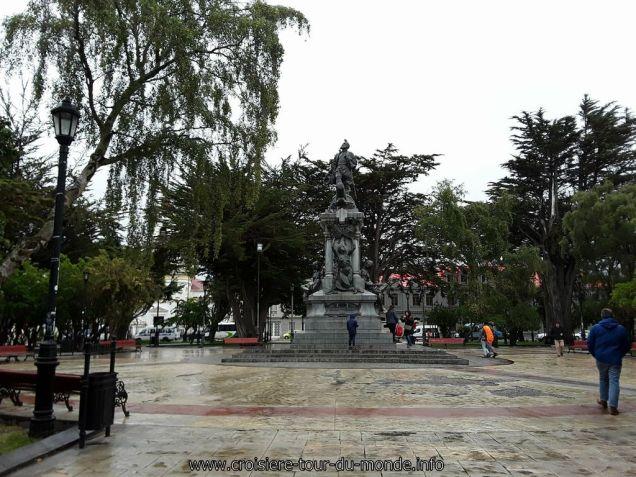 Escale à Punta Arenas au Chili