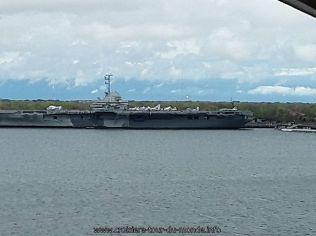 Départ de Charleston et navigation en direction des Bermudes