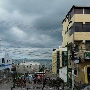 Escale à Manta en Equateur