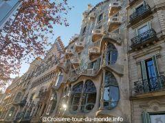 Croisière tour du monde 2019 Escale à Barcelone