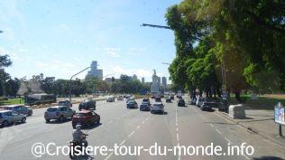 Croisière tour du monde 2019 escale à Buenos Aires