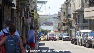 Croisière tour du monde 2019 escale à Montevideo