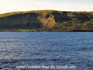 Croisière tour du monde 2019 escale à l'Île de Pâques