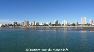 Croisière tour du monde escale à Puerto Madryn
