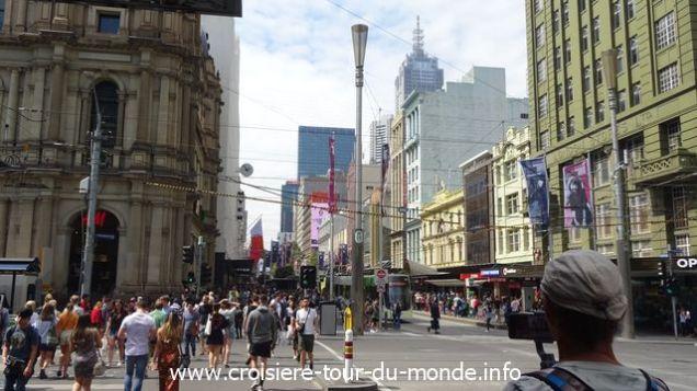 Croisière tour du monde 2019 Melbourne Australie