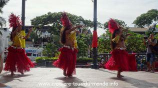 Croisière tour du monde 2019 Papeete - Tahiti