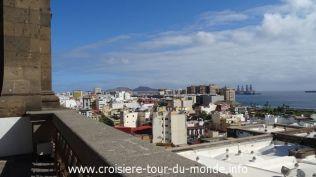 Croisière tour du monde 2019 escale à Las Palmas de Gran Canaria