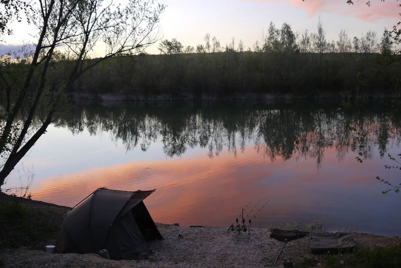 Looking out across peg 4 at susnet