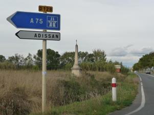 Paulhan - D609 Route de Pézenas - D128 (2)