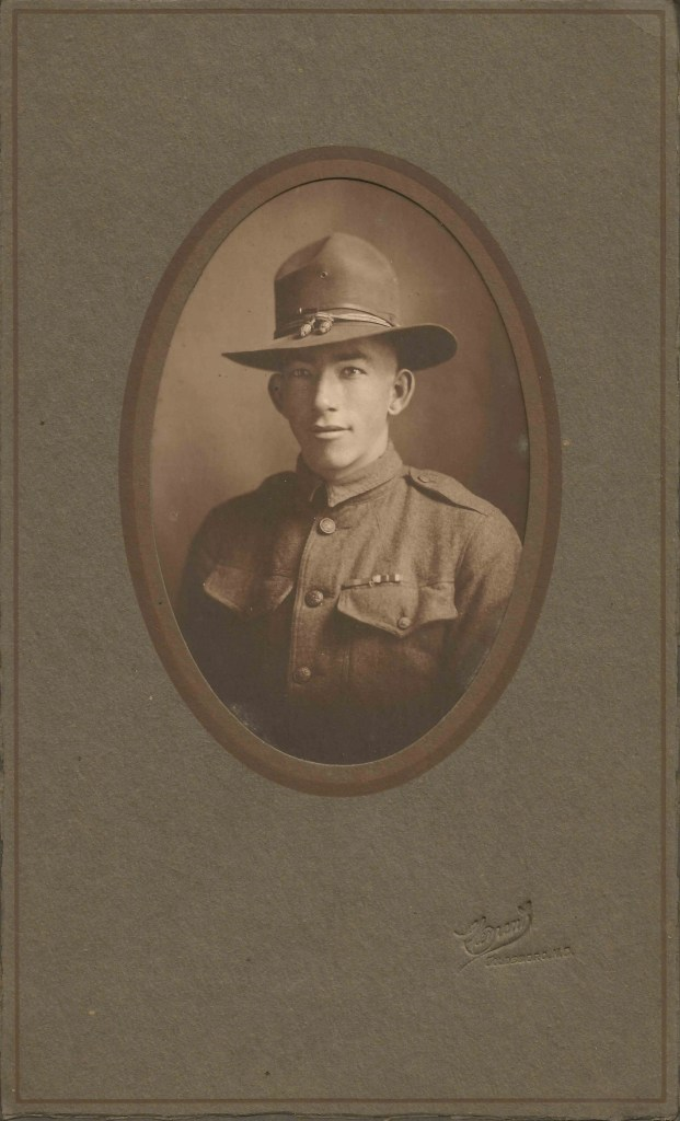 Sidney Hinson, World War I