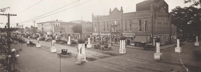 Downtown Goldsboro, NC about 1920.