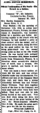 Mount Olive Tribune, death of Grover Summerlin