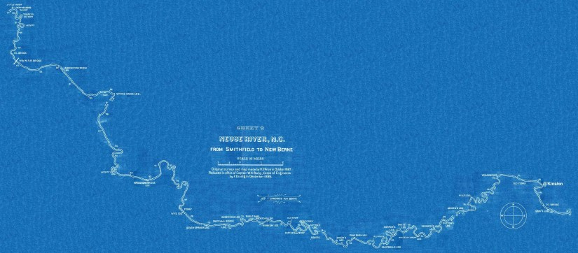 Neuse River blueprint connected