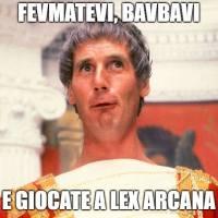 Lex Arcana e del gdr italiano che è diventato grande