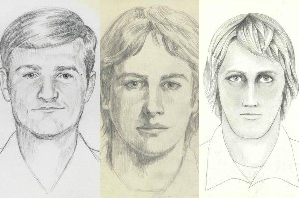 Golden State Killer Sketch
