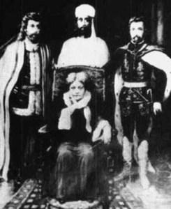 Vampire Saint Germain pictured right with Helena Blavatsky