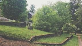 Northeast view of Pine Ridge Cemetery