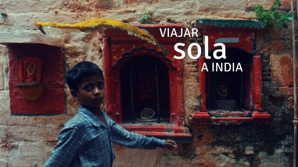 viajar a India sola