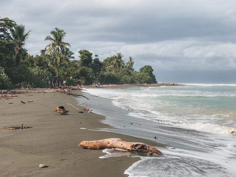 playa en el Parque Nacional Corcovado