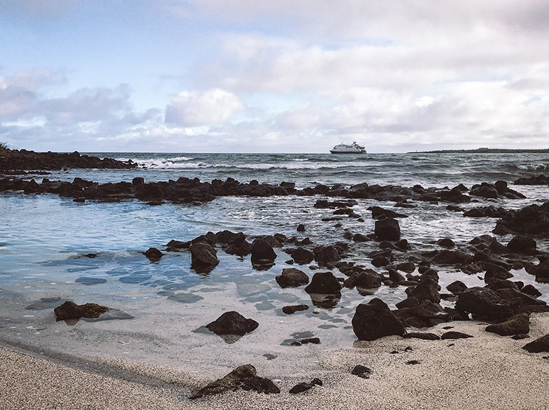 Playas de Santa Cruz, Galápagos.