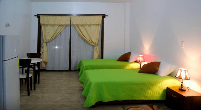 Dónde dormir en isla Isabela