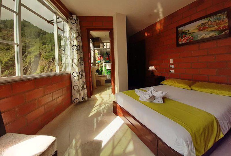 Habitaciones con vistas en Baños
