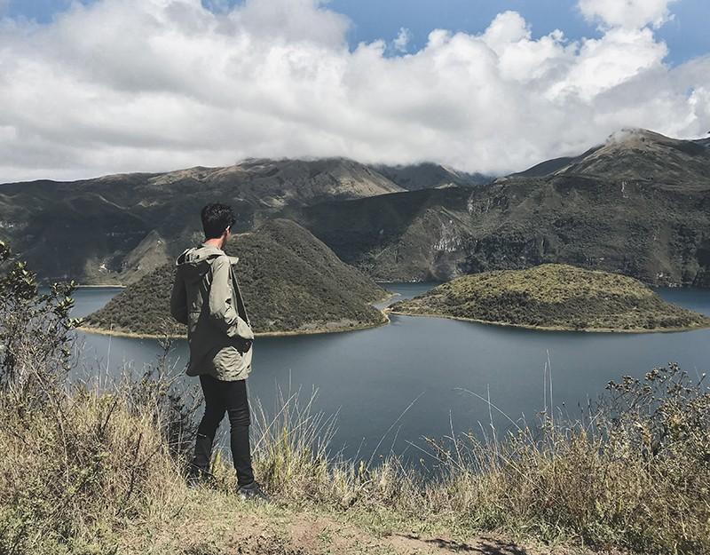 Cómo llegar a la laguna de Cuicocha desde Otavalo