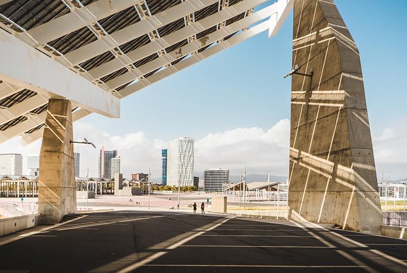 Placa fotovoltáica de Barcelona
